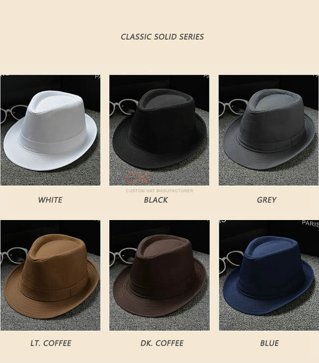 fedofedora hat assortedra hat assorted