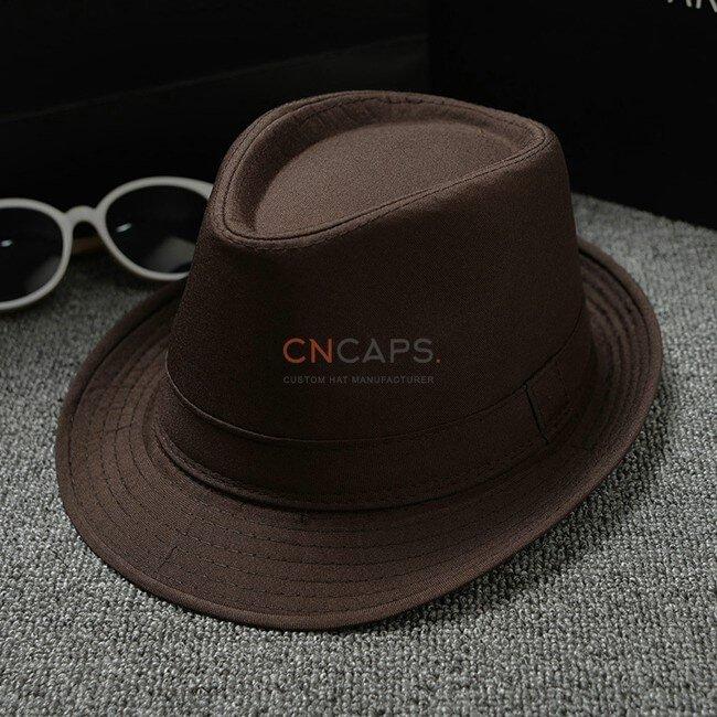 coffee classic fedora hat