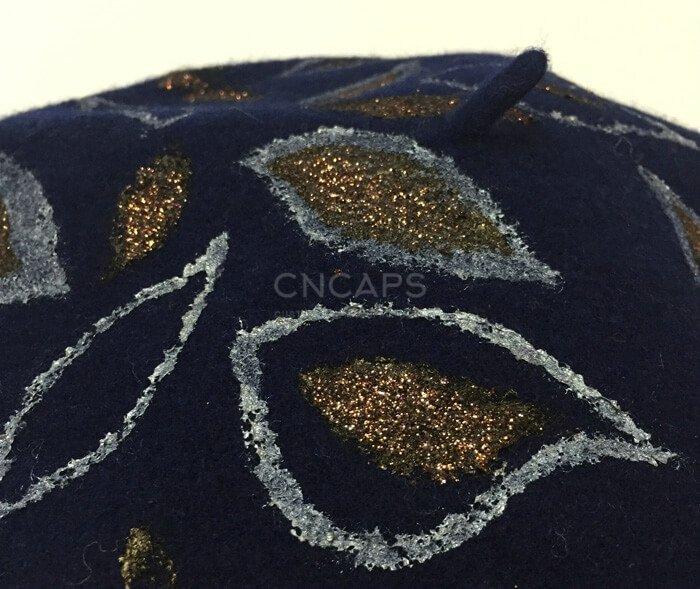 beret painting details