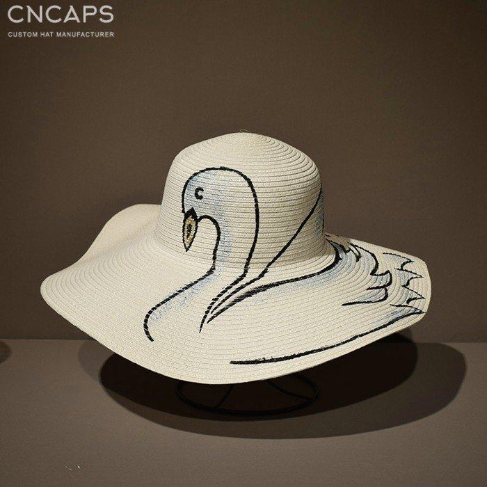 lady beach hat