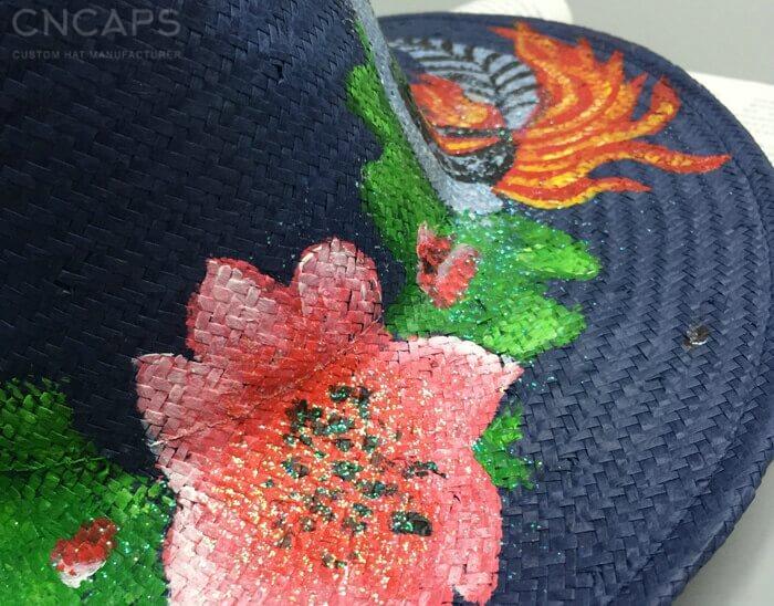panama hat drawing details