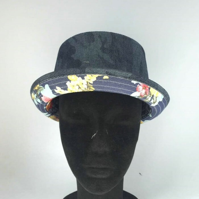 Floral Print Tropical Fedora Hat