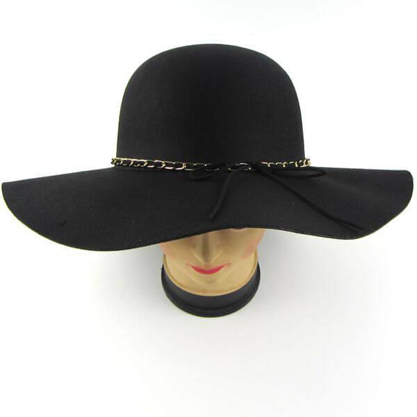 female felt hat