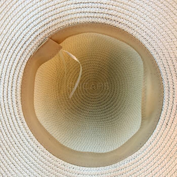 2dff6fa0505 Custom straw beach hat sun UPF travel island
