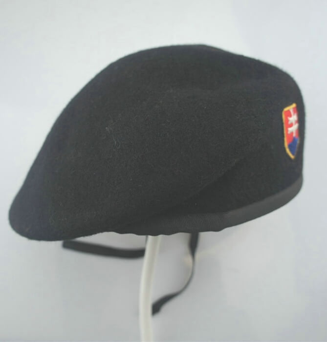 f54ea27c2e0 Custom wool 100% beret with logo embroidery   print - CNCAPS