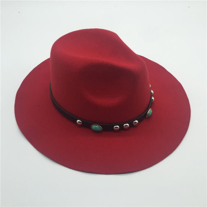 fd38092191cb9 color of ribbons for this wide brim vintage felt panama hat(more options) . fedora  hat band