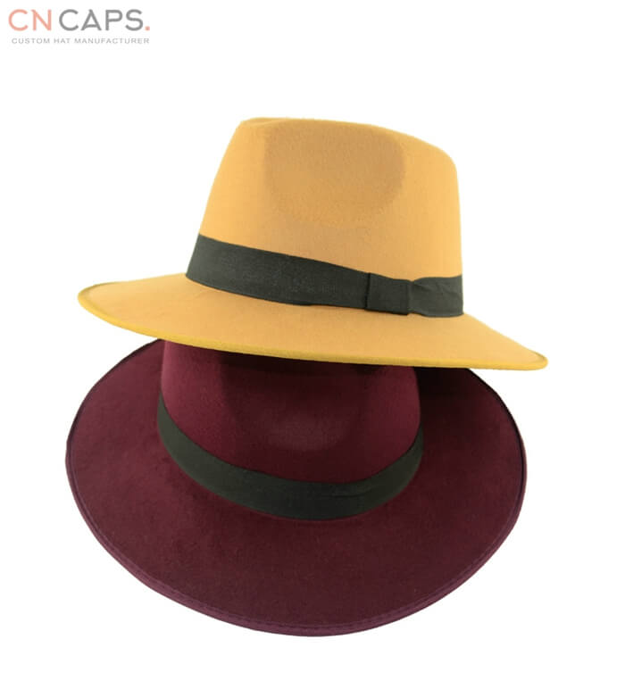 903c1f402f4 Classic felt panama hat with bow tie