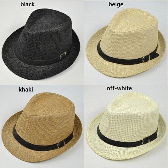 1c4a272bd Wholesale fedora hat with leather belt (assorted colors) - CNCAPS