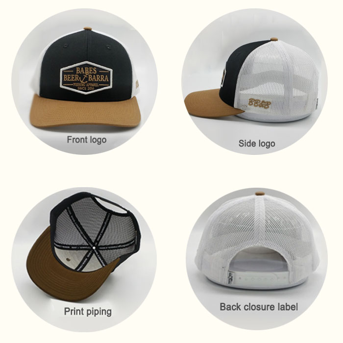 custom snapback cap custom options