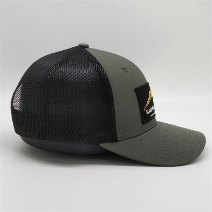 rPET recycled cap