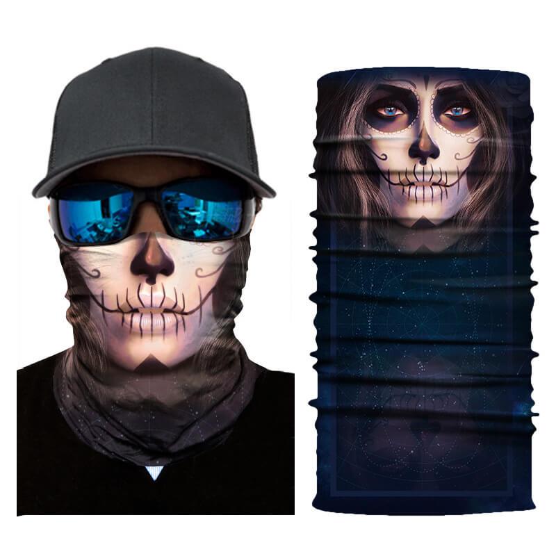 skull face shield