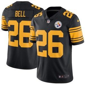 Men's Pittsburgh Steelers Le'Veon Bell Nike Black  white dwayne wade jersey