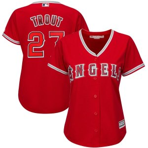 Women's Los Angeles Angels Mike Trout Majestic Sca cheap wholesale Bryce Harper jersey