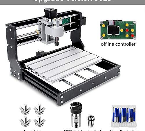 CNC 3018 Pro GRBL Engraving Machine,DIY Woodworking Carved Small CNC