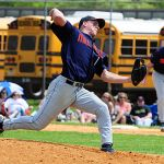 MIke Trout pitching in high school 2008
