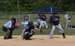 Glen Jacobs batting