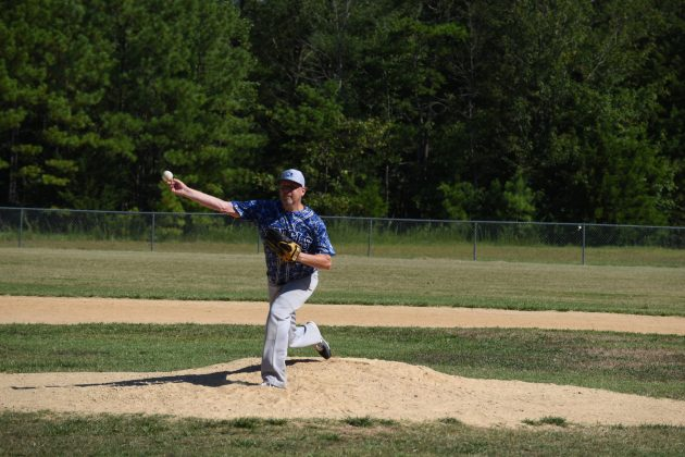 Joey Sogluizzo pitching