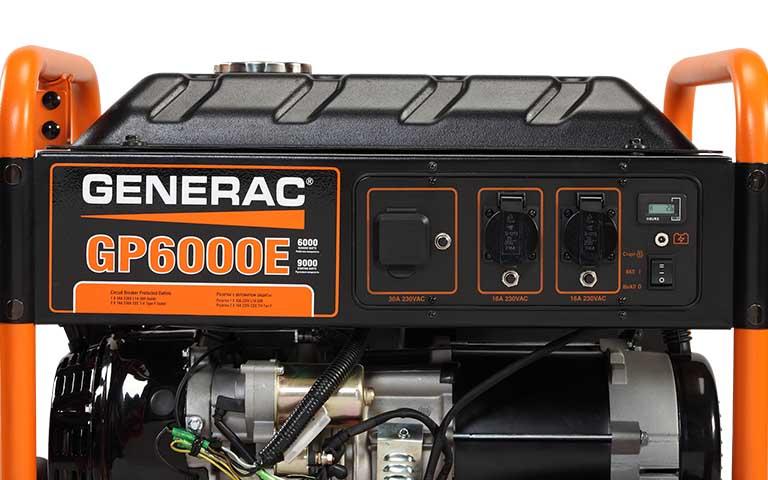 Generac Dayton Portable Generator Electrical Schematic Wiring Diagram