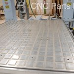 DMS 5 Axis CNC Router - Aluminum vacuum plenum table