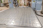 DMS 5 Axis CNC Router - Aluminum vacuum plenum table