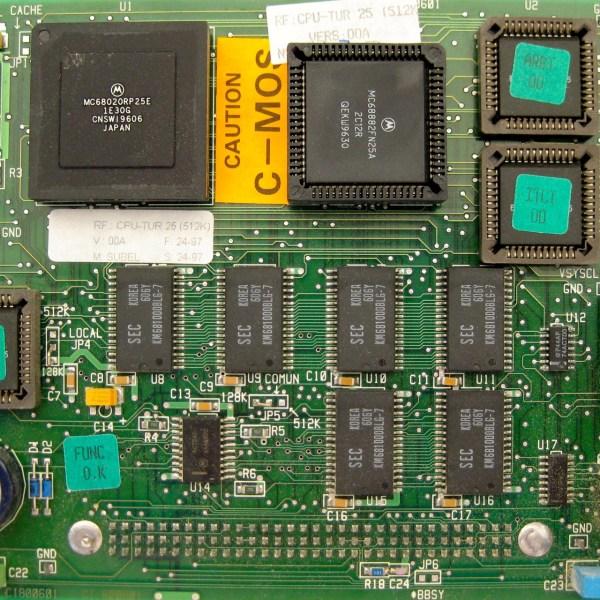 Fagor CPU-TUR 25 (512K) CPU turbo board 03