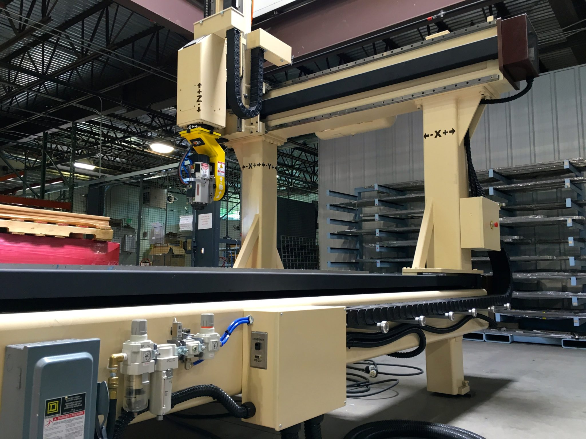 Used Motionmaster 5 Axis CNC Router E421