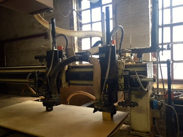 3 axis Motionmaster CNC router C448