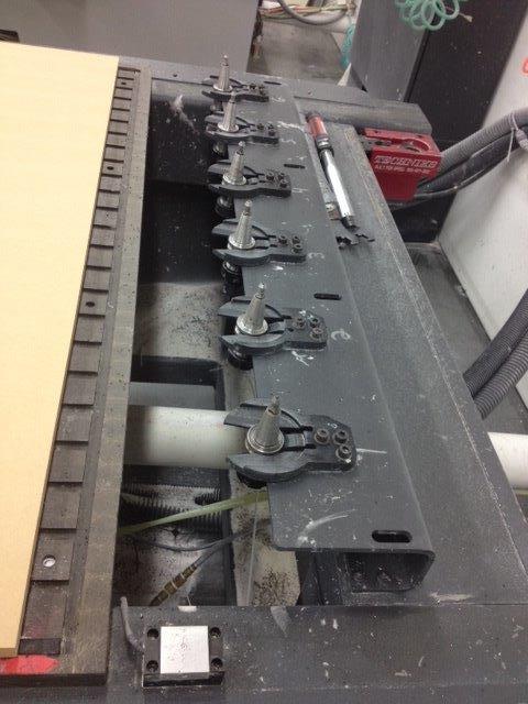 Multicam 4x8 3 Axis CNC Router C394
