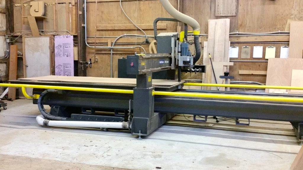 Multicam MT205 3 axis CNC router C446