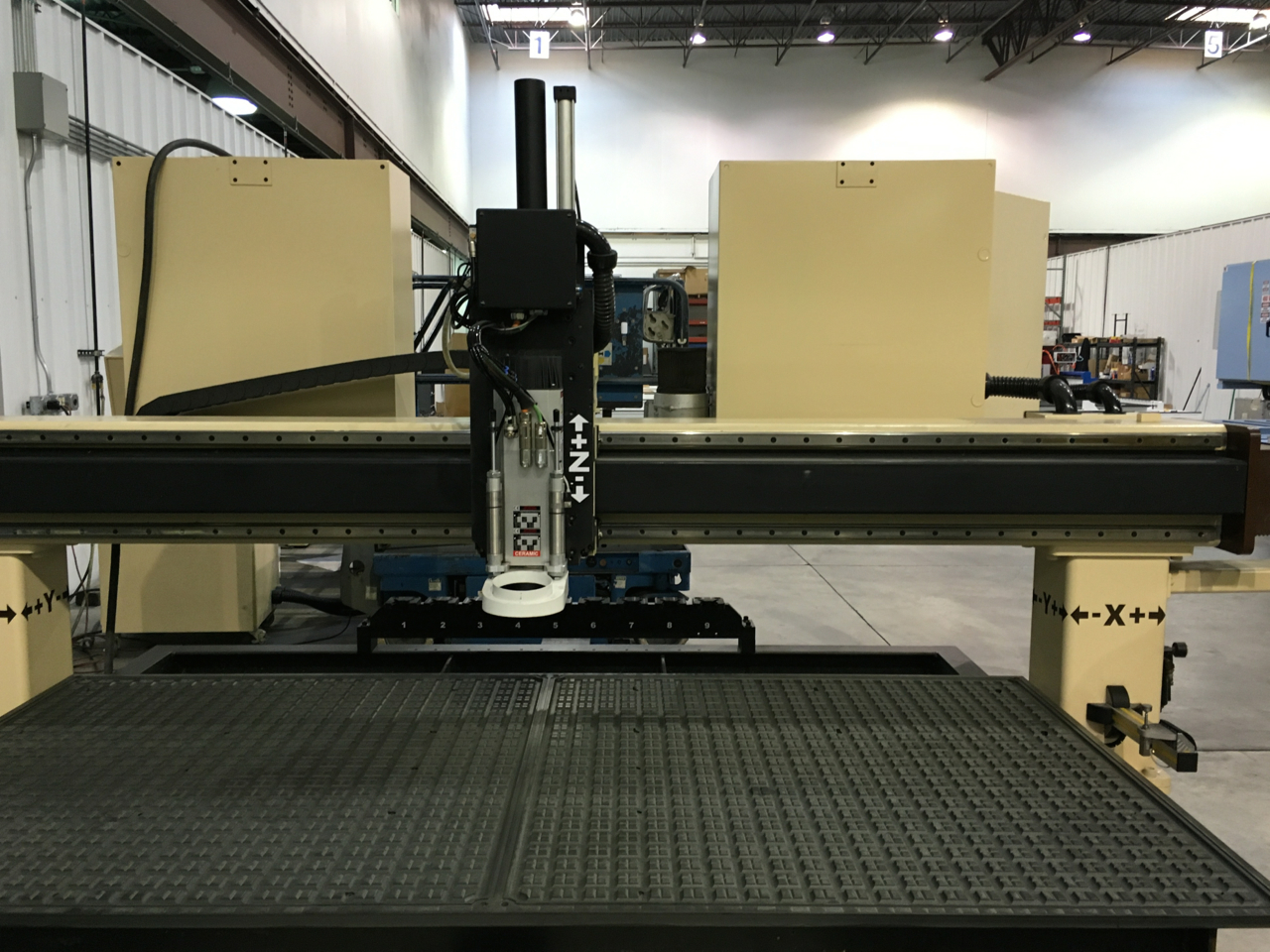 Refurbished Motionmaster 3 axis CNC router