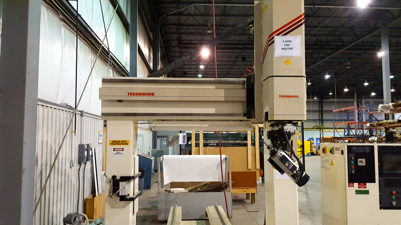 Thermwood 5 Axis CNC Router E465