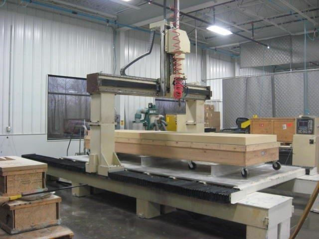 Motionmaster 5 axis cnc router E479
