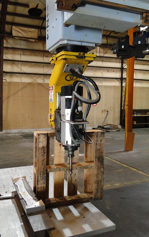 DMS 5 axis CNC router