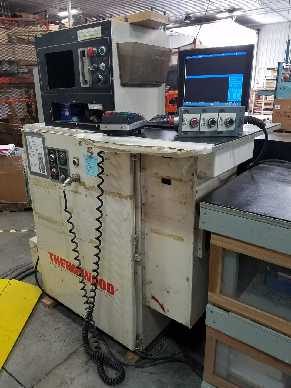 Thermwood 5 axis CNC router E483