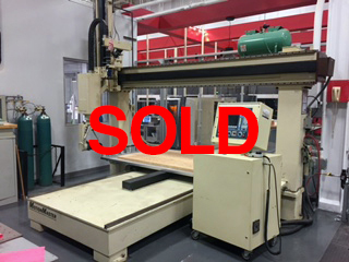 Motionmaster 5 axis CNC router E494 sold