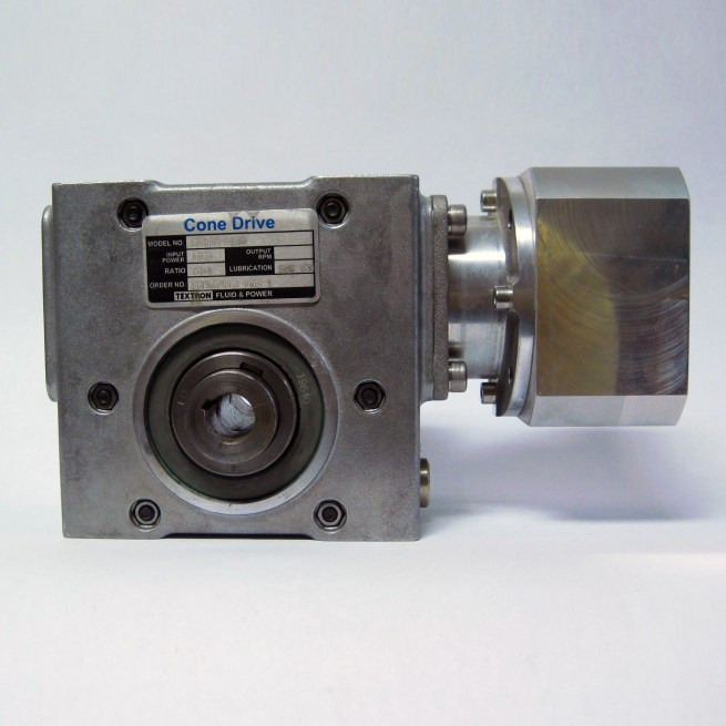 Textron B0410 A158 Cone Drive Right Angle Gear Reducer 222530682938
