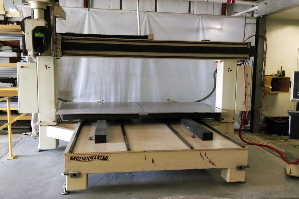 Motionmaster 5 Axis CNC Router E538