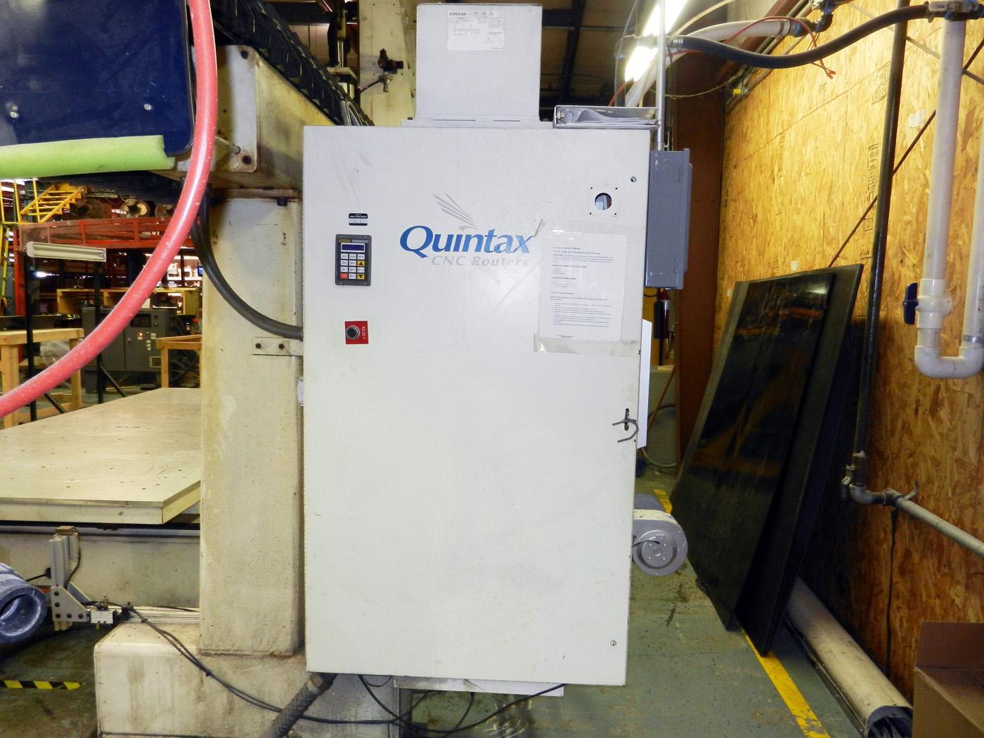 Quintax 5 Axis CNC Router E537