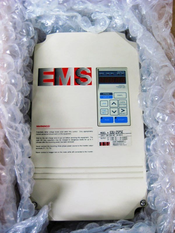 EMS G3U-25P5E VFD