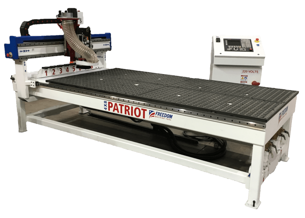 New FMT Patriot 4x8 3 Axis CNC Router