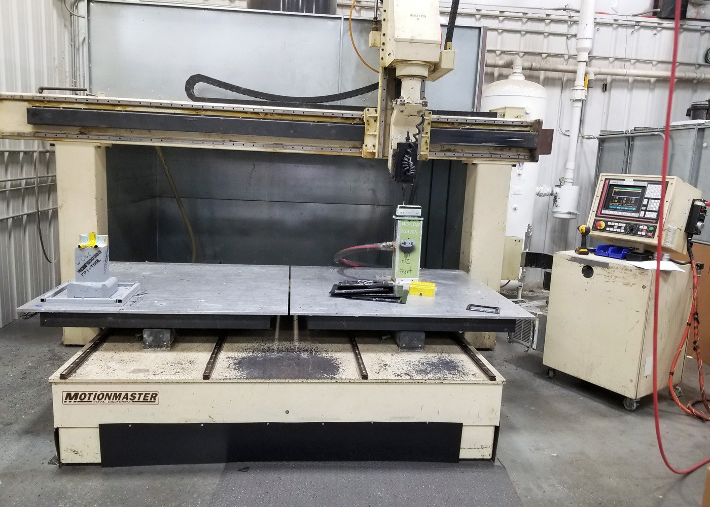 Motionmaster 5 Axis CNC Router E579