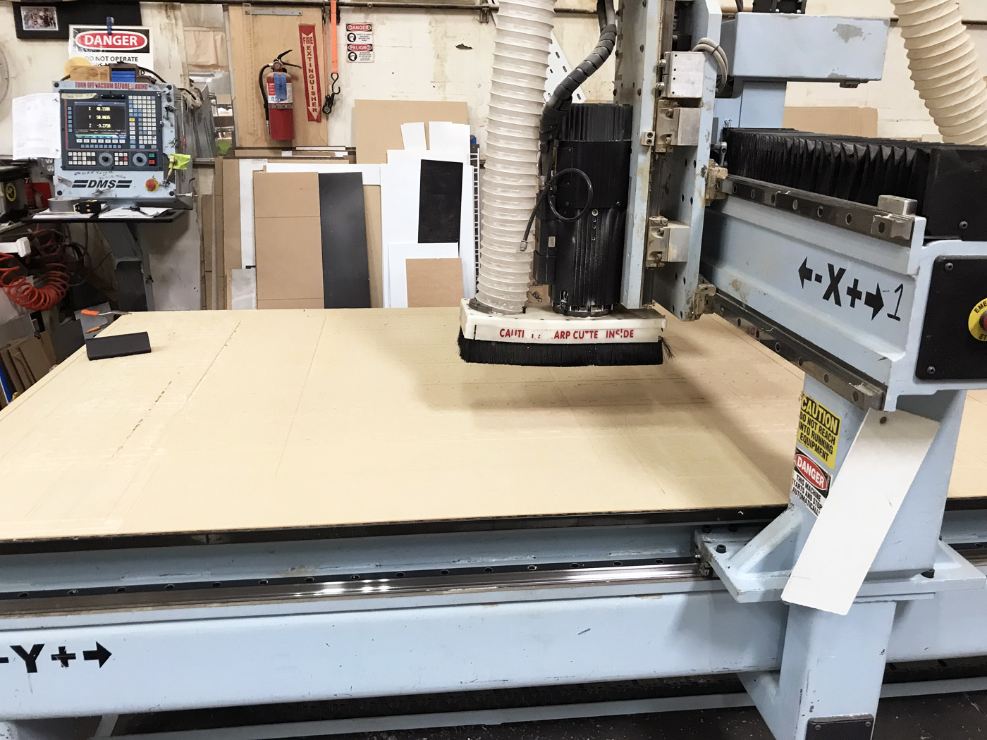 DMS 3 Axis CNC Router C583
