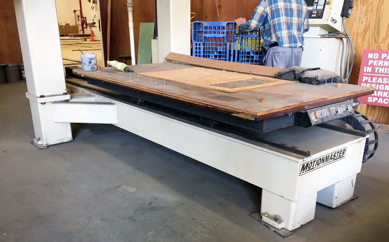 Motionmaster 5 Axis CNC Router E596