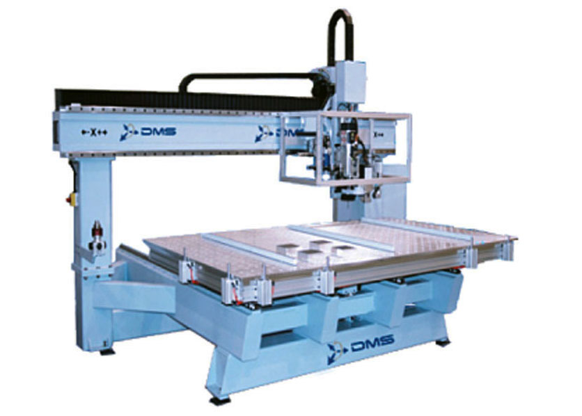 DMS 3 Axis Moving Table CNC Machine