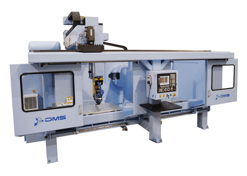 DMS 5 Axis Dual Moving Table CNC Machine