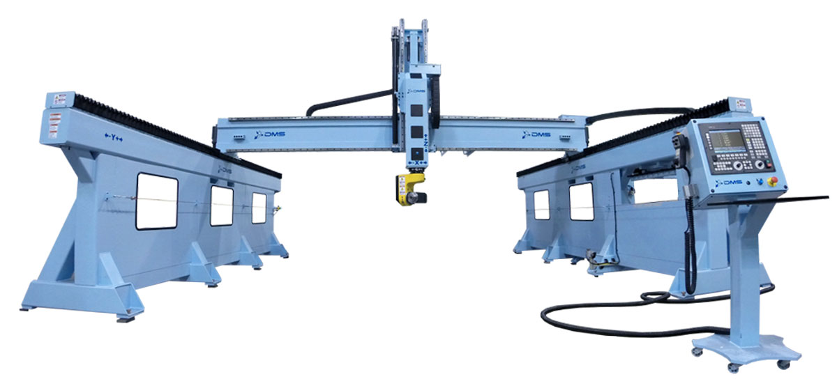 DMS 5 Axis Sidewall Gantry CNC Machine 2