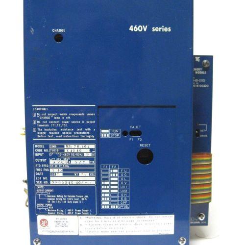Yaskawa CIMR-H37BE04 Transister Inverter w/ Memory Module J0HB-C03-221849632876