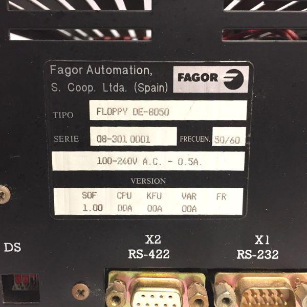 Fagor FLOPPY DE-8050 Floppy Disc Unit 4