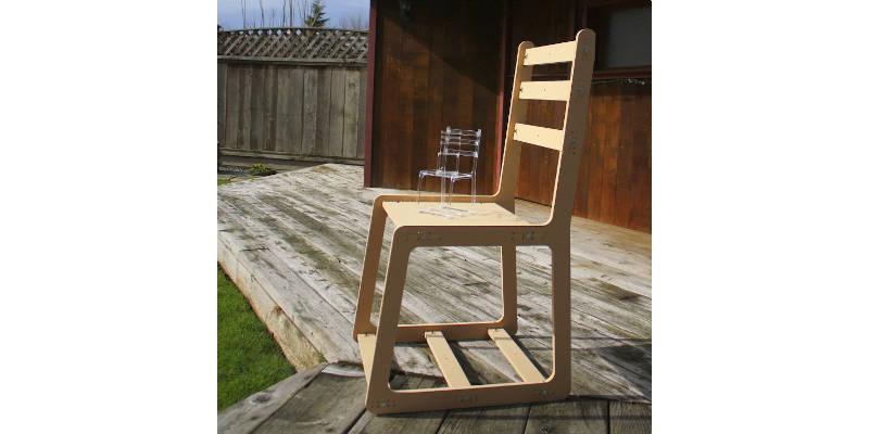 CNC Furniture Wood Chair