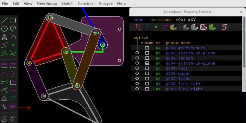 SolveSpace laser engraving software